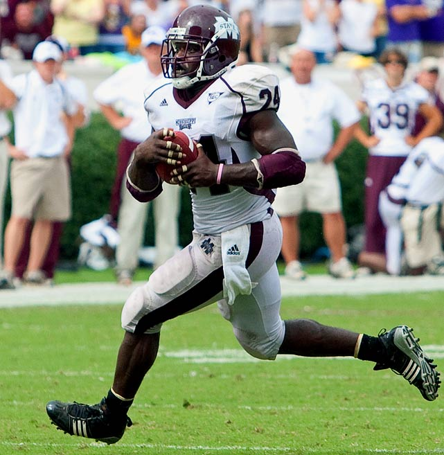 Dixon is big, strong, and has good hands -- he caught 56 passes and scored 4 touchdowns out of the air in his career at Mississippi State. But he possesses only average speed, doesn't block well despite his size, and his character has been questioned.