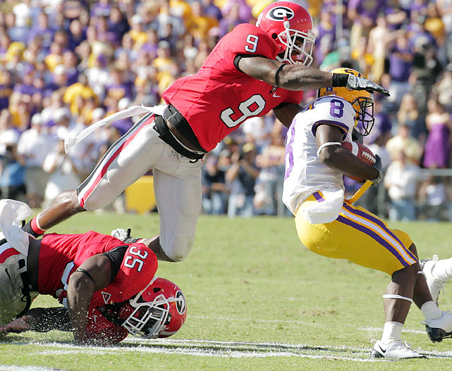 Overshadowed in the SEC by the rising star of Eric Berry, Georgia's Jones put together a three-year career that included 11 interceptions, 194 tackles and enough big hits to put together an impressive highlight reel. But Jones' hulking frame is better suited for run support than coverage, and his lack of consistent effort has raised questions among pro scouts.