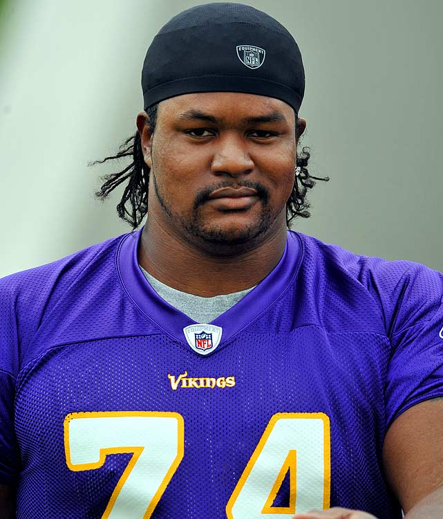The infamous 2005 Vikings' party boat incident occurred well before the policy was in effect, but the left tackle made himself available for a four-game suspension in 2008 after being charged on aggravated battery, disorderly conduct and resisting arrest outside a Miami night spot.