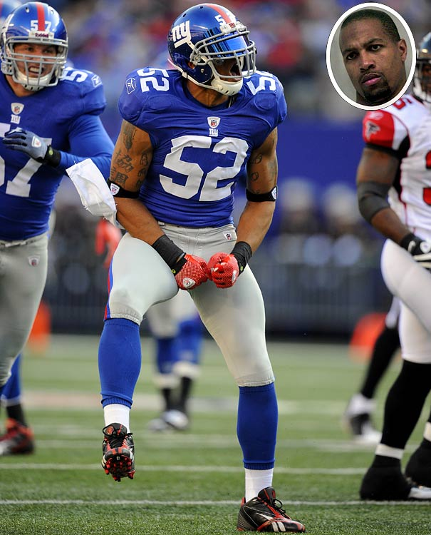 Signed by the New York Giants in 2009, Boley was suspended for one game that year as a result of a domestic battery charge in May of 2008.  The Giants signed both Bolely and Rocky Bernard that offseason, but neither has had discipline problems since.