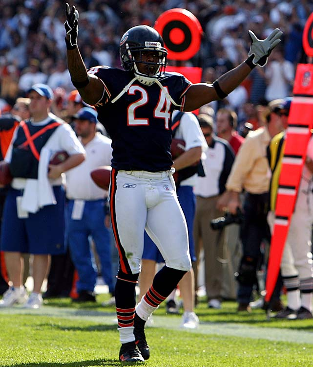 The former Chicago Bears defensive back was suspended one game in 2006 after he plead no contest to a felony assault charge.