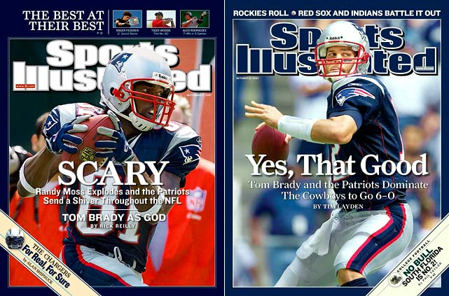 After adding wideout weapons Randy Moss and Wes Welker to an offense masterminded by Bill Belichick and led by Tom Brady, the Patriots steamrolled through the regular season with a 16-0 record. But New England came up short of an undefeated season, losing to the Giants by a field goal in Super Bowl XLII.