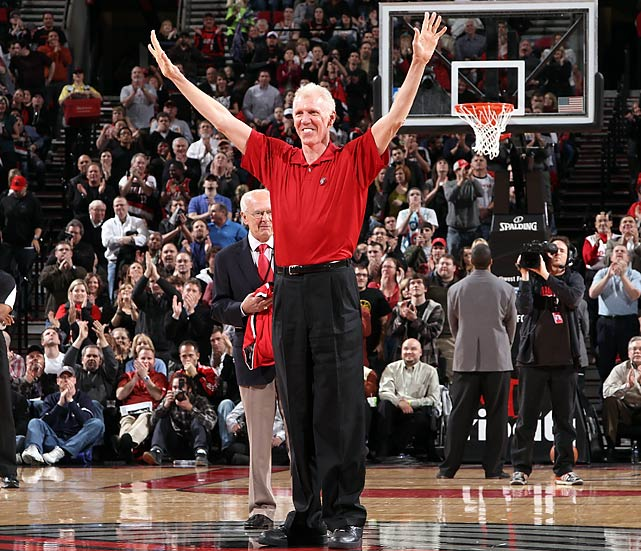 "<b><i>""Instead of cursing the darkness/Light a candle for where we're going/There's something ahead.""</b></i> <br><br>Bill Walton quoting Neil Young's Light a Candle when presenting Maryland's Greivis Vasquez with the Bob Cousy Point Guard of the Year Award."