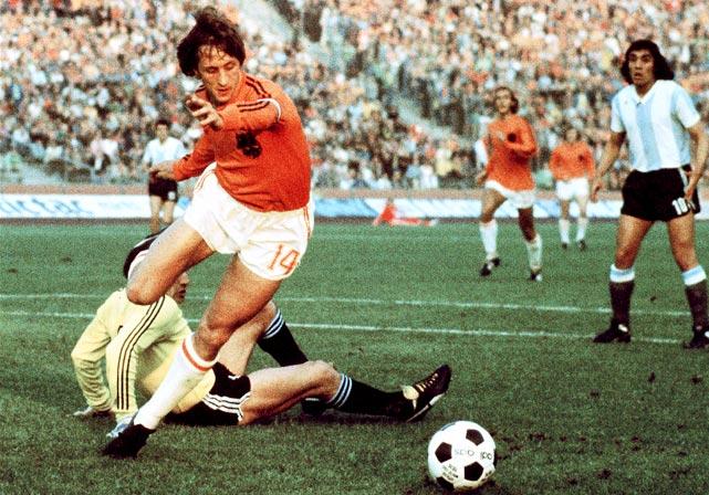 "<b><i>""Pele was a hero, so was I. Now it's Messi's turn.""</b></i> <br><br>Soccer player Johan Kruyff on rising star Lionel Messi."