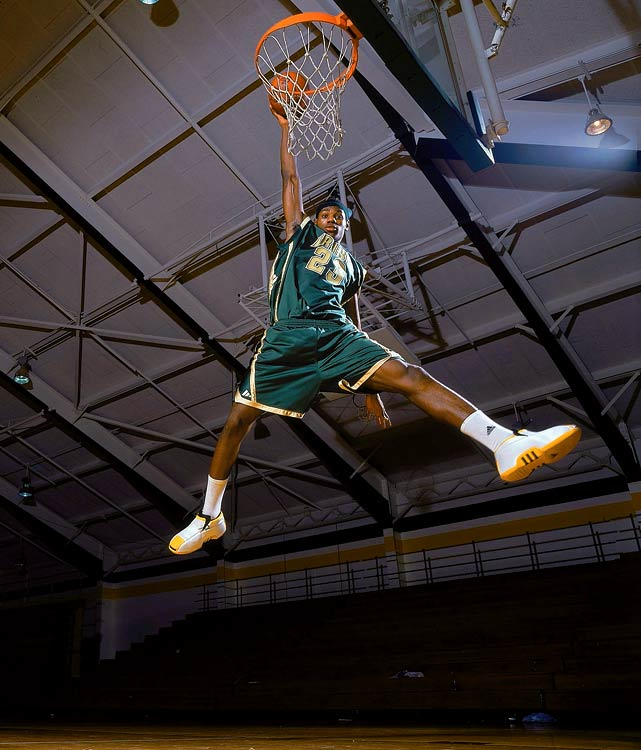 Even in high school, James began channeling Michael Jordan, wearing No. 23 and modeling the jumpman pose.