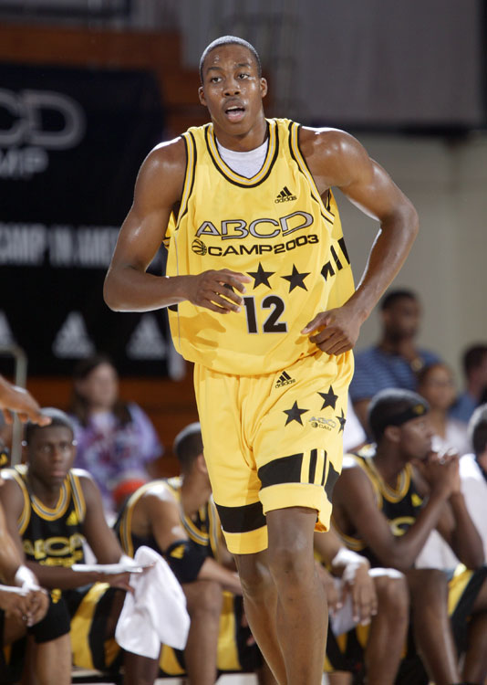 The summer before his senior year of high school, Howard was invited to the now-defunct Adidas ABCD camp, an invitation-only showcase in Teaneck, N.J.