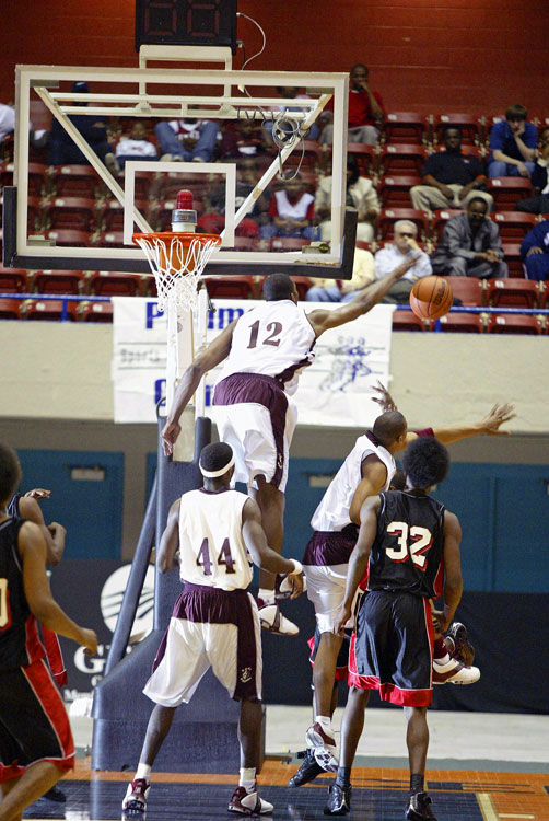 Howard attended high school at Southwest Atlanta Christian Academy, where the teenager (12) hinted at a successful future in defending the rim. His shot-blocking and leaping abilities helped SACA to the 2004 Georgia state title.