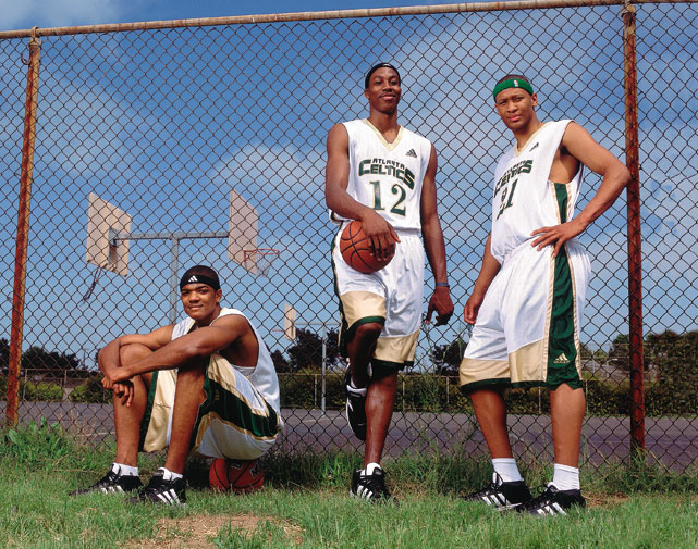 Believe it or not, Howard was a Celtic at one point in his career. An Atlanta Celtic, that is. He played AAU basketball with current Hawks forward Josh Smith and former NBA big man Randolph Morris.