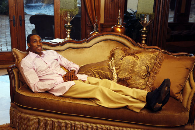 Thanks to his NBA success, Howard was able to buy his Chateau L'Usse, a multimillion-dollar mansion in Longwood, Fla.
