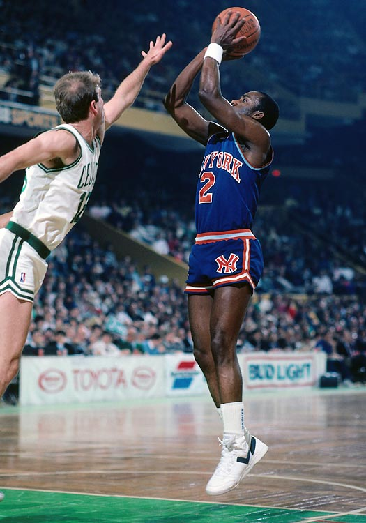 With just .01 seconds left on the clock in a 1990 regular season tilt against the Chicago Bulls, New York's Trent Tucker canned a desperation shot off an inbounds pass, giving the Knicks the win. The game was protested by the Bulls and led to an NBA rule change after the 1989-1990 season, indicating that no regular shot can be taken from the court if the ball is put into play with less than three-tenths of a second remaining on the game clock.