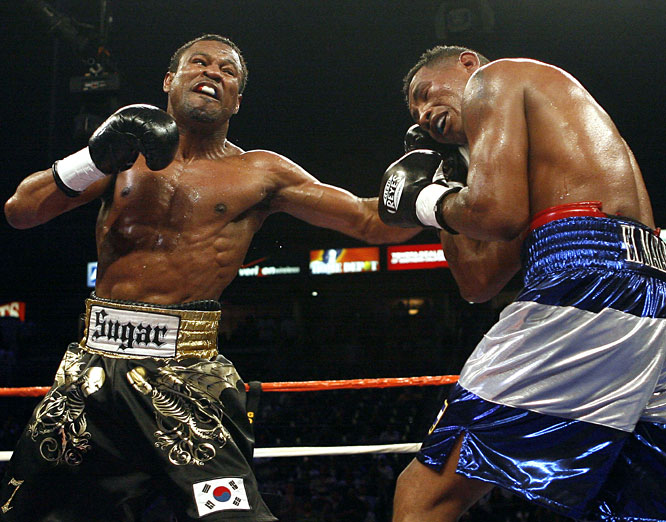 Mosley scored a 12th-round knockout of Mayorga with just one second remaining to earn a title shot with Antonio Margarito.