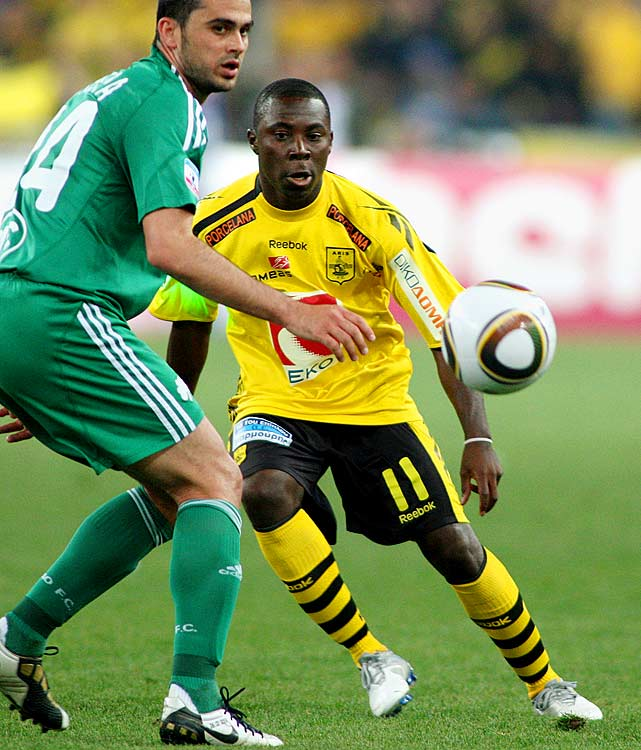 Under coach Hector Cuper, Freddy Adu has progressed at Aris where he's scored 2 goals in 6 games.