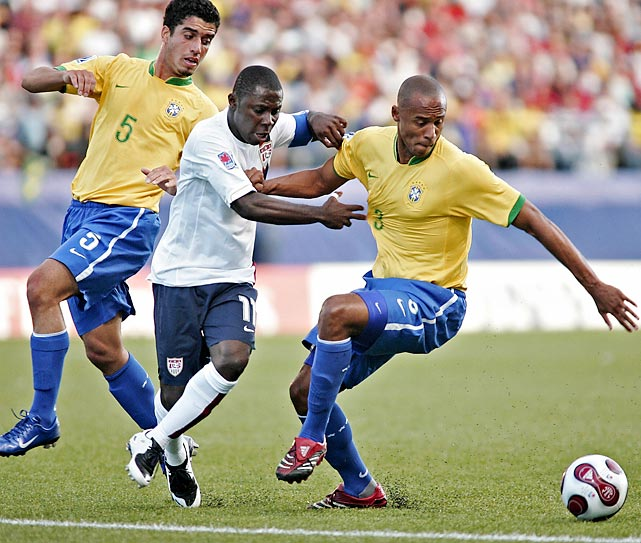 Adu's career-best performance came during the 2007 U-20 World Cup when he shined for the U.S. in leading it past Brazil.