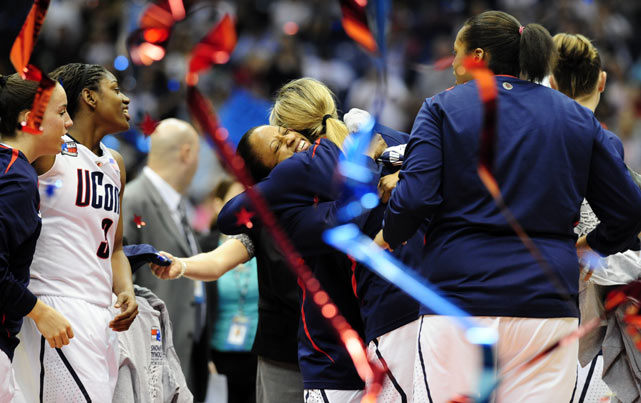 During UConn's 78-game winning streak, the Huskies have trailed for only 115 minutes (out of a possible 3,120).