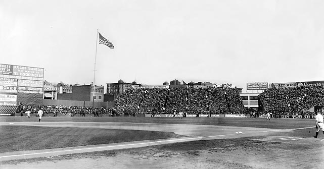 The famed home of the Red Sox hosted its first professional game. Boston beat the New York Highlanders (later known as the Yankees) 7-6 in 11 innings in front of 27,000 fans. On that same day, Tigers owner Frank Navin opened up Navin Field (which would become Tiger Stadium), with a capacity of 23,000.