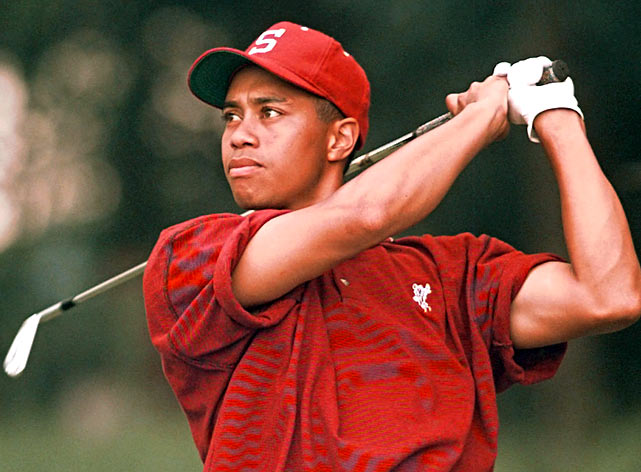 tiger woods  the college years