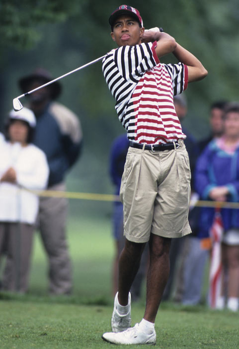 Woods was recruited very heavily by many of the top college golf schools but chose Stanford, the 1994 NCAA Division I champion.