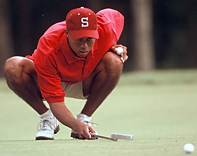 By the end of 1997, Tiger's first full year on the PGA tour, he was the leading money winner ($2.07 million) and reached No. 1 in the world rankings in his 42nd week as a pro.
