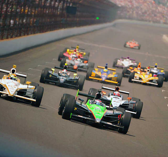 Sunday's race clocked in an average speed of 161.623 mph and became the 13th Indy 500 to end on a caution.