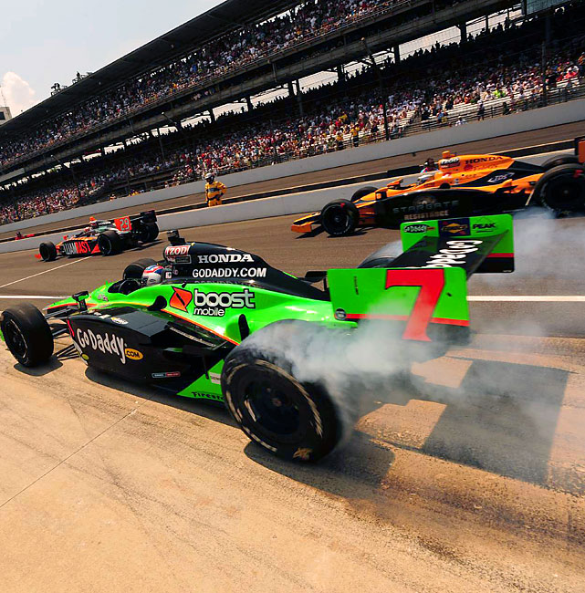 Danica Patrick took sixth place in this year's Indy 500 after starting 23rd. A record-four women competed in the fabled race.