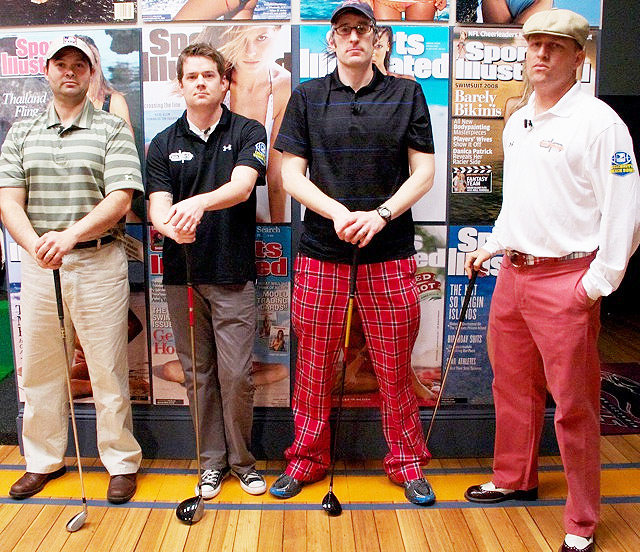 The Danettes are not strong golfers ... despite the wardrobe.