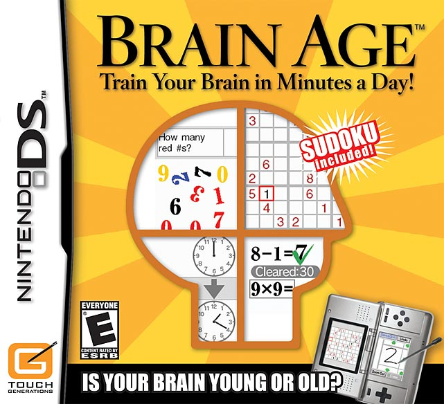 A recent study published in the science journal Nature concludes that brain games, like Nintendo's popular Brain Age, do not make you smarter. The study measured whether playing these kinds of games improved memory or problem solving in over 13,000 test subjects over a six-week period. While participants did improve at the specific games they played, those skills did not transfer over to other related mental tasks. We can't wait for a test to determine if playing Madden makes you better at playing professional football!