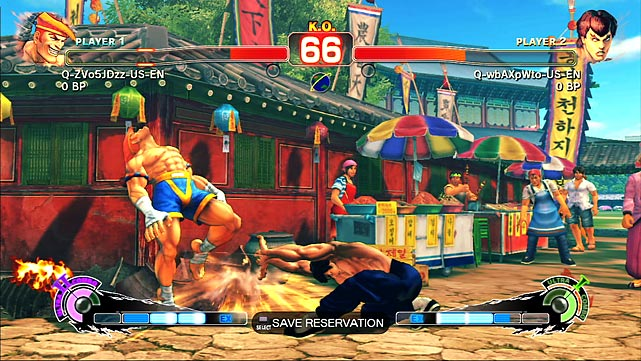 It's been about a year since Capcom released Street Fighter IV, so you might be wondering why they just re-releasing the game. Cynics would suggest Capcom is trying to cash in, but the new version is a solid upgrade that will appeal to hardcore Street Fighter fans and tempt those who didn't buy in last year. The game looks the same and, with the exception of some new special moves and tricks for all the fighters, plays the same. But that's a good thing. The biggest improvement is the online system, which does a better job of getting you into ranked matches and employs a points system that clarifies a player's overall skill and specific skill with various fighters. You can replay matches alone or with others and there's also a great arcade-like mode where you can wait your turn for the winner and talk trash as you wait to play. The game adds 10 fighters from the previous edition, and the 35 total fighters are available right off the bat so you don't need to waste time unlocking them. The game still looks great, and best of all you can get it for under $40 on Amazon.  Score:  9/10