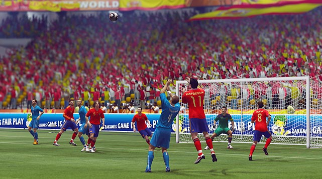 The quadrennial edition of EA Sports' tried-and-true international soccer franchise captures the atmosphere and wonder of the world's largest sporting event in all its vuvuzela-sounding, pyrotechnic-blasting glory. Featuring all of the 199 national teams that took part in qualifying for this summer's finals in South Africa, 2010 FIFA World Cup delivers enough attractive features and accoutrements to make it worth the buy even if you already own the club-centric FIFA 10 that hit shelves in October. Our favorite? The Story of Qualifying and Story of Finals modes, where players can relive moments from previous qualifying campaigns and tournaments with 55 scenario-based challenges (for the PS3 and Xbox 360 editions only). And during the World Cup this summer, a free live service will deliver new, true-to-life scenarios to your machine so you can rewrite history.  Score: 9/10