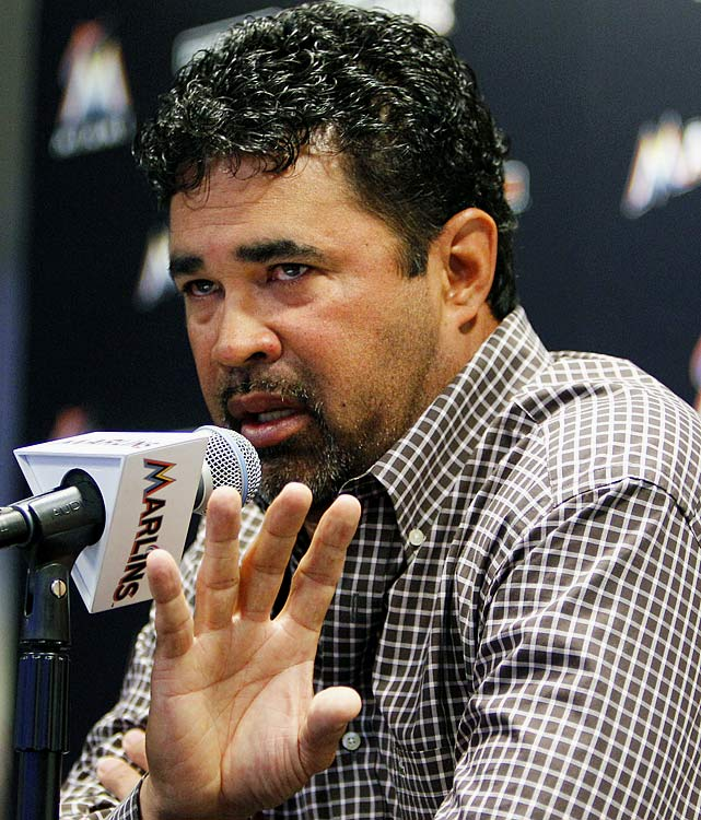 "It took less than a week for Ozzie Guillen to get in hot water for something he said -- and this time it nearly cost him his job. In a Time magazine article that came out in the first week of the season, Guillen said he ""loves"" longtime Cuban dictator Fidel Castro and also said ""I respect Fidel Castro. You know why? A lot of people have wanted to kill Fidel Castro for the last 60 years, but that [S.O.B.] is still there.""      Guillen was later suspended five games for those remarks, which set off a firestorm in South Florida, home to many Cuban exiles. The Marlins are playing their first season in a new ballpark in Miami's Little Havana neighborhood and had hired Guillen in part to be a drawing card for the next chapter in the team's history."