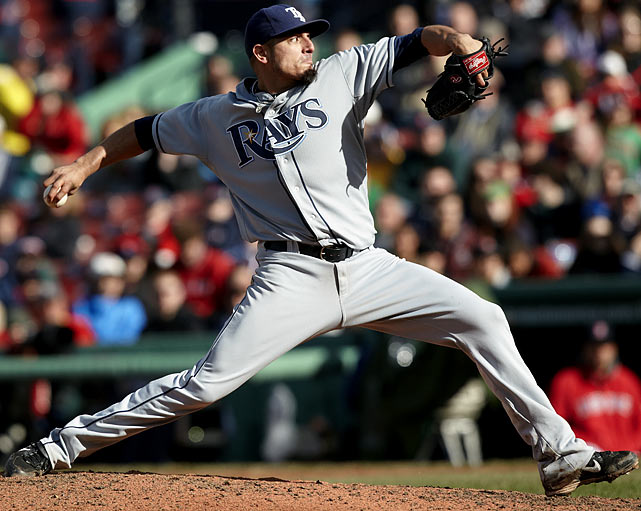 Another of the Rays talented young starters, Garza is 5-1 with a 2.38 ERA and 48 strikeouts while Tampa Bay had notched victories in six of his eight starts in 2010. Can he win the Cy Young if he doesn't even prove to be the best starter on his own team?