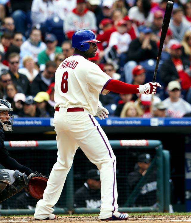 With a fat new contract on the books, the Phillies expect Howard to crank plenty of homers this season. That shouldn't be too difficult for the big lefty, since he's launched at least 45 bombs each of the last four seasons.