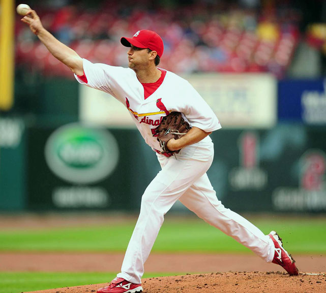 Last season, Wainwright racked up 19 wins and over 215 strikeouts. This year, he's picked up right where he left off, winning six of his first nine starts and striking out 57 batters. But is Wainwright even the best starter on the Cardinals?