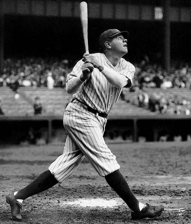 Though Ruth's more glamorous records have been eclipsed, this one has withstood challenges from Lou Gehrig to Ted Williams to Barry Bonds and remains intact. Albert Pujols, currently the game's most prolific slugger, has never reached .690 even once in his stellar career.