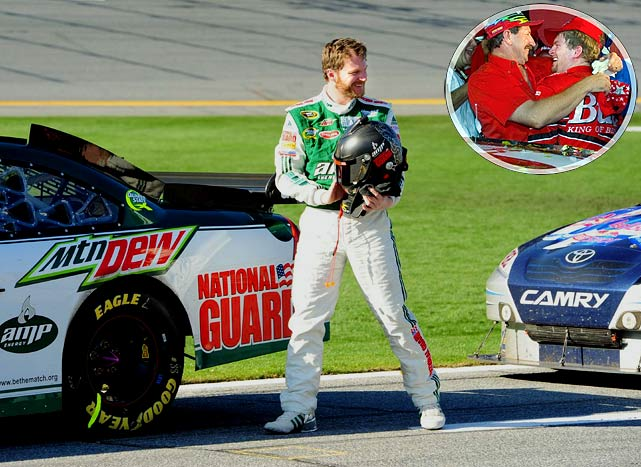 The sport's Most Popular Driver hasn't won since Michigan in June 2008, but sneaks into the All-Star Race on a technicality: He's a former champion of the event. That was the last of a three-win rookie season that left his father, the late  Dale Earnhardt , hugging him with joy in Victory Lane. The Intimidator's son has hardly been intimidating since; he's led just 23 laps in the last nine All-Star events. But after getting stuck in a slump that's left him 16th in points, there's no better time to summon that former magic and earn a win he desperately needs.