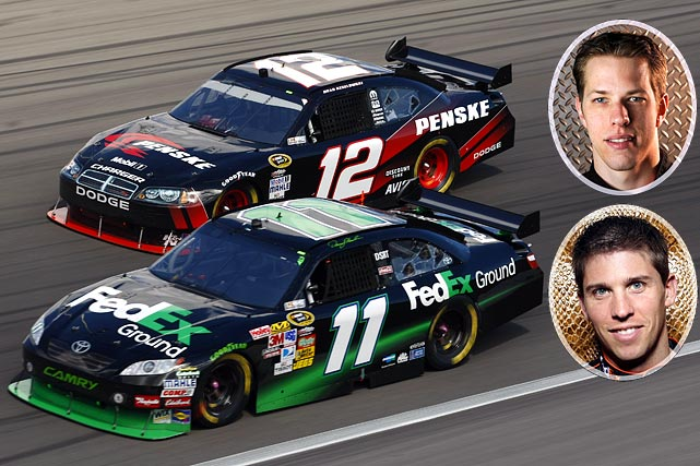 This race is the type where rivalries come out in full force, with no championship points at stake for any potential dust-up. So will two of NASCAR's fiercest enemies, Hamlin and Keselowski, go at it again? They've been fairly quiet in 2010 after last November's feud, one that culminated in Hamlin intentionally knocking Keselowski out of the way in the Nationwide Series finale. The two have played it cool in public, but privately still keep their distance and won't back away the second they bang fenders on the track.