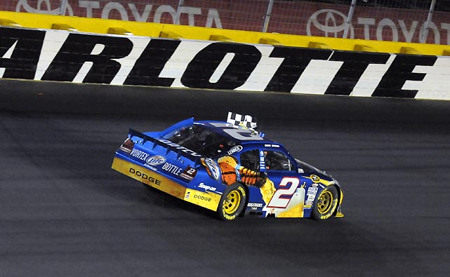 Busch followed up his All-Star Race victory by making it two consecutive wins at Charlotte, leading 252 of the 400 laps. No one else led more than 36 laps.