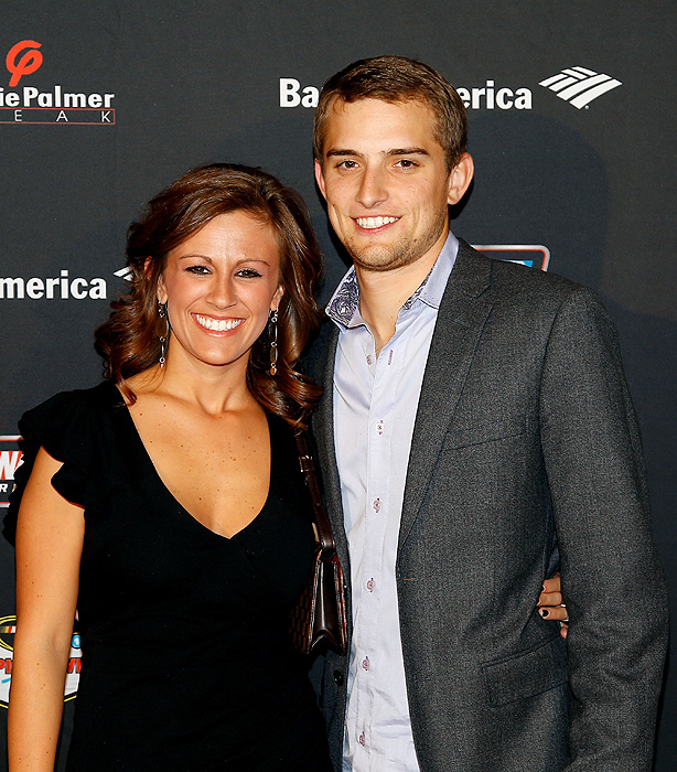 Kris Buescher, the daughter of Turner Motorsports owner Steve Turner, met James Buescher when they were both racing as teenagers. The couple married before the start of the 2012 season, in which James won the Camping World Truck Series title.