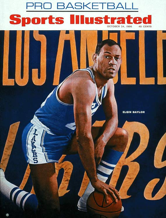 The spectacular 6-5 forward averaged 27.4 points and 13.5 rebounds in 14 seasons with the Lakers, who ran up against Bill Russell's Celtics throughout Baylor's tenure. A knee injury ended Baylor's 1970-71 season after two games -- the same season the Lakers ripped off an NBA-record 33 victories and won the championship.