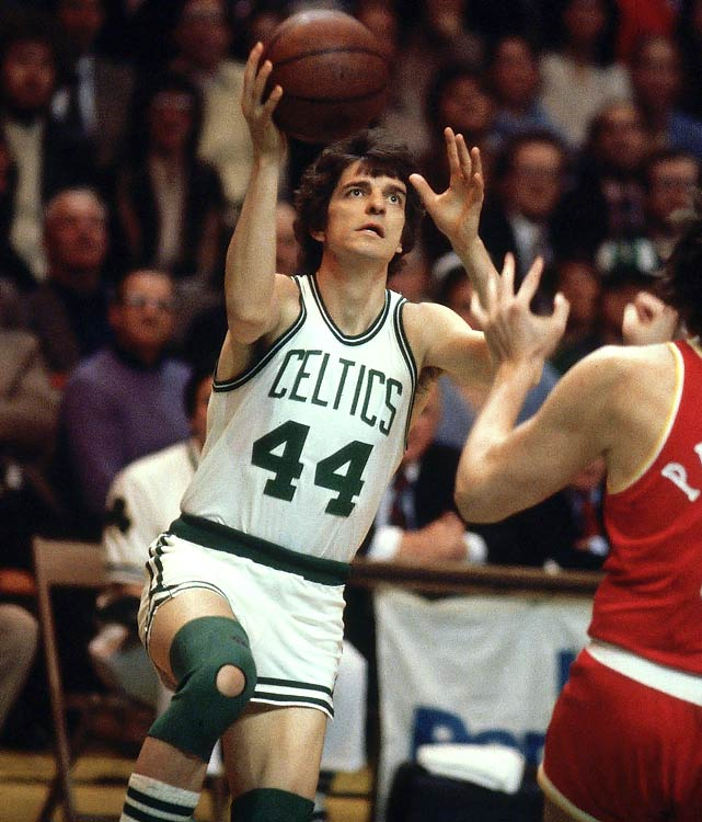 Maravich never played on a serious contender in the prime of a career in which he averaged 24.2 points over 10 seasons. In his final season, he played limited minutes for the Celtics, who went 61-21 before losing to the 76ers in the Eastern Conference finals.