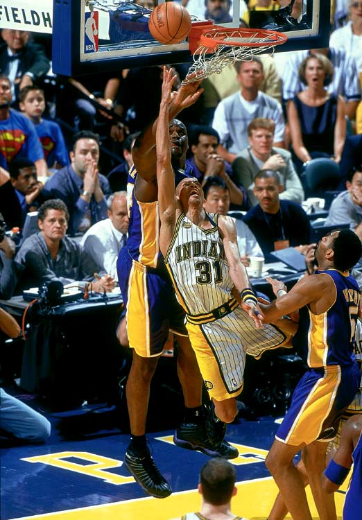 One of the league's great shooters had several signature playoff moments, many against the Knicks, and he made the playoffs 15 times in an 18-year career, all with the Pacers. But his only trip to the Finals came in 2000, when the Pacers lost to the Lakers in the first of L.A's three consecutive titles.