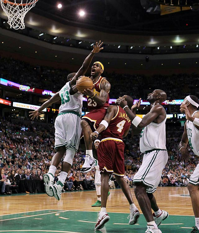 """""""LeBron James played as if he were tired of all the panic. ... The Cavs' lack of intensity had been replaced by a collective sense of purpose. All panic was forgotten. Or at least shelved for another day.""""  -- Marla Ridenour, Akron Beacon Journal, after Cleveland's Game 3 win"""
