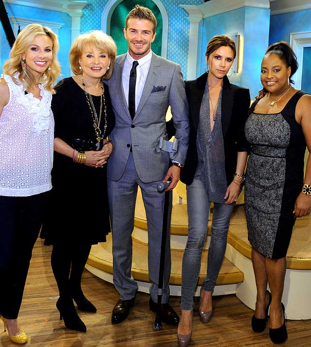 "David and Victoria Beckham made it known during their appearance on The View, that they would consider having a fourth child.  The couple already has three sons, which Posh confessed is a lot to handle.  But when asked about a possible addition, she said ""Who knows, one day?"" Could a little girl be in the stars?"