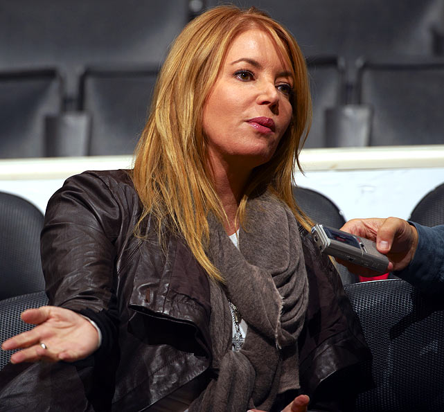 There's nothing like front-office employees and coaches' girlfriends divulging secrets.  And Jeanie Buss is both! The Lakers executive vice president and significant other of Phil Jackson said there's a chance the coach will lead a different team next year.  And who are we to question this bold statement?  She clearly has the inside scoop.