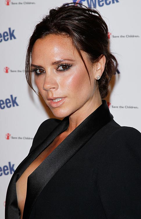 In a poll recently conducted by makeup brand Max Factor, Victoria Beckham was voted the world's most glamorous celebrity.  SI.com is conducting its own poll for the best-dressed athlete and, so far, Posh's hubby is in a close second behind LeBron James.  Click here to cast your vote.  http://sportsillustrated.cnn.com/multimedia/photo_gallery/1004/best.dressed.athletes/content.1.html?eref=sihp