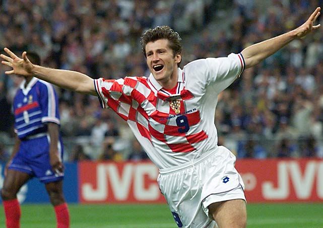 Suker's six goals helped take Croatia to third place in the tournament.