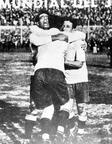 The hosts won the first World Cup, beating Argentina 4-2 in the final. Uruguay's victory in the 13-team tournament was the start of a trend: The host nation has won six of 18 World Cups, and even lesser sides that have hosted usually have exceeded expectations.