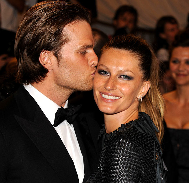 Brady and Bundchen are still newlyweds, celebrating their one-year wedding anniversary on Feb. 27.