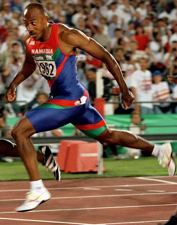The world champion sprinter and four-time Olympic silver medalist wasn't just a brilliant athlete, he is also Namibia's only Olympic medalist.