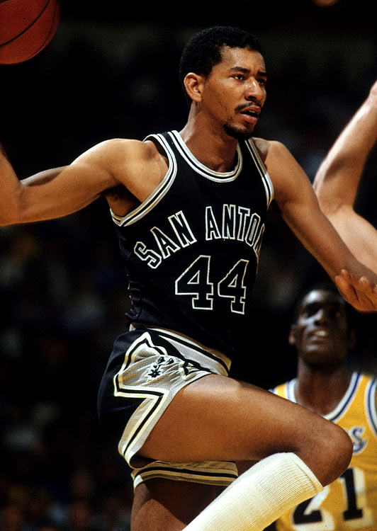 One of the 50 greatest NBA players of all time, Gervin should feel lucky here to have ousted a man who holds the record for having played the most rugby union test matches in Aussie half-back George Gregan and the man who shares in the highest-scoring-partnership over the course of a test cricket career in West Indian opening bastman Gordon Greenidge.