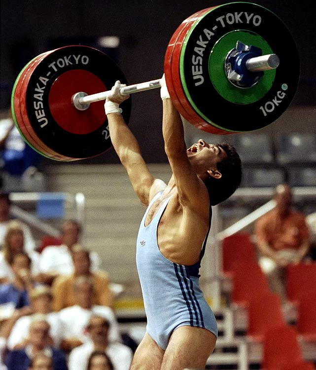 Bulgarian weightlifter who scored gold in Barcelona. That being said, one struggles for II athletes about as much as Mr. Ivanov's parents did for an original first name for their son.